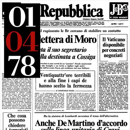 Calendario Lunare 1978.Edicola 78 I 55 Giorni Del Sequestro Moro Nelle Pagine Di