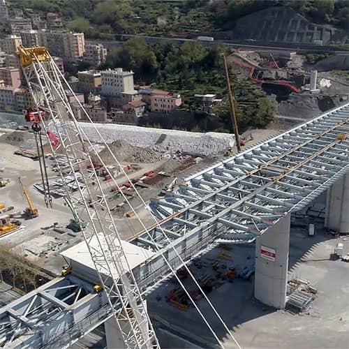 Da Ponte Morandi a Ponte San Giorgio. I due anni che hanno cambiato Genova