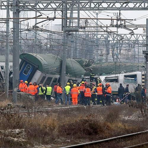 Morte sul treno dei pendolari