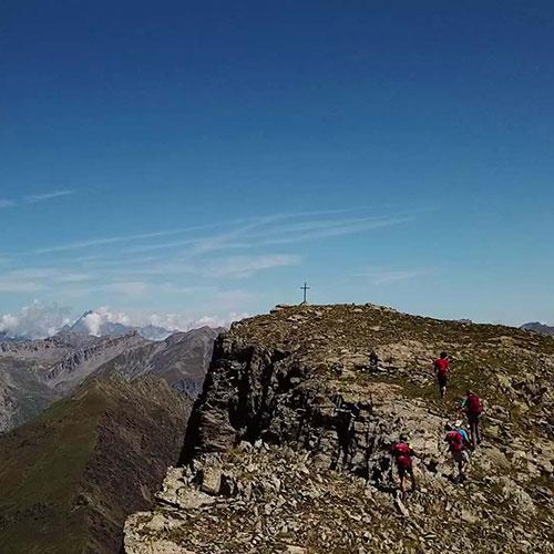 Sui percorsi delle Alpi del Sud